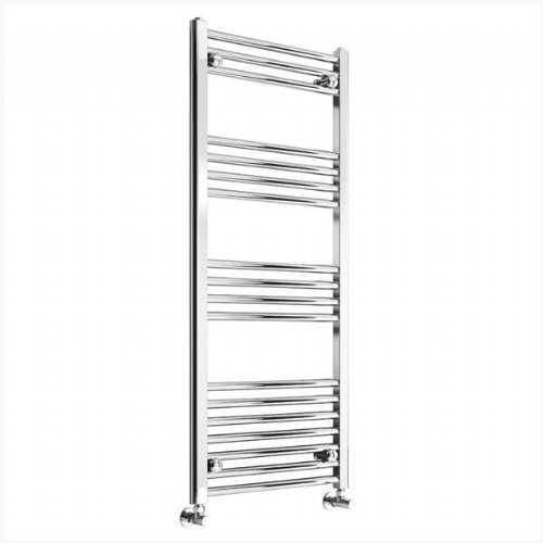 Reina Capo Flat Electric Towel Rail - 1000mm x 400mm - Chrome